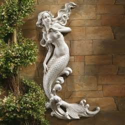 design toscano eu6424 the mermaid of langelinie cove wall