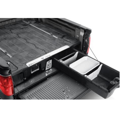 truck bed drawer system decked truck bed storage suburban toppers