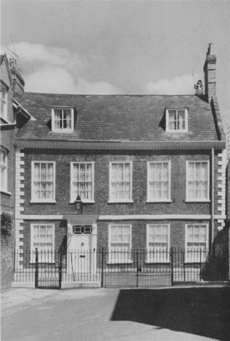 18th century houses plate 145 18th century houses precentor s court and minster yard british history