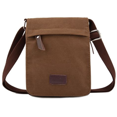 Canvas Bag Ukuran Besar 2 new canvas bags messenger bags vintage s shoulder crossbody bags coffee green small