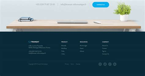 header footer web design a useful guide to designing website footers idevie