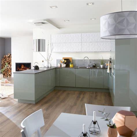 cuisine peinte en vert cuisine verte nos plus beaux mod 232 les cuisine verte