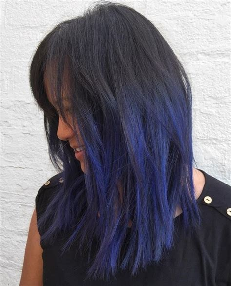 black hair w highlights purple ombre hair ideas plum lilac lavender and violet