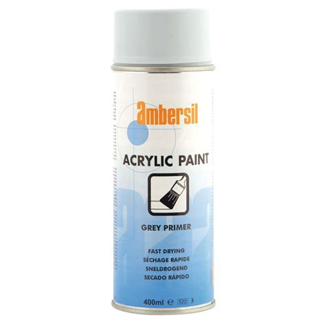 acrylic paint primer ambersil 20189 aa acrylic paint grey primer 400ml rapid