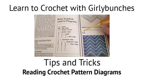 how to read a crochet pattern diagram tips and tricks reading crochet pattern diagrams