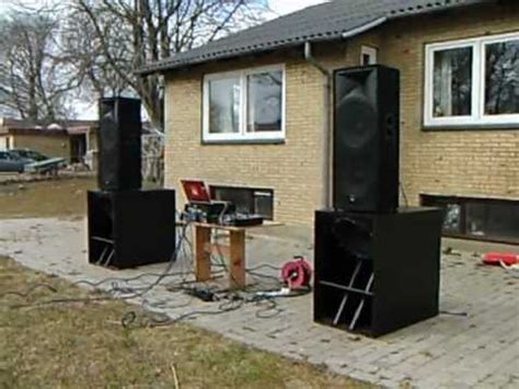 home made subwoofers