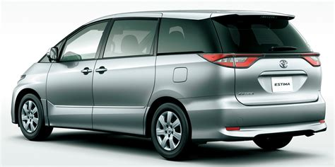toyota estima 2016 toyota estima facelift officially revealed in