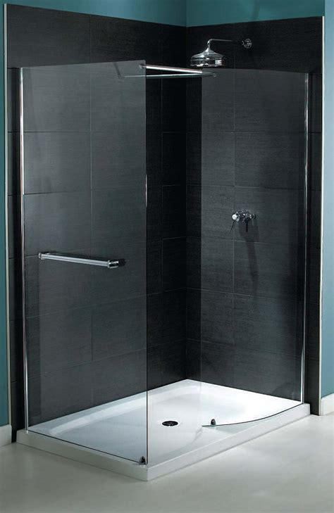 Walk In Shower Enclosures With Tray aqualux shine walk in shower enclosure 1400 x 900mm 6mm