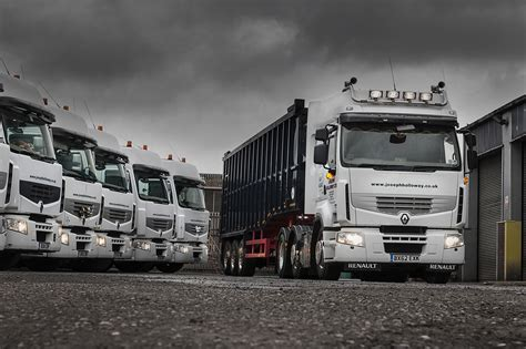 renault truck premium joseph holloway moves to all renault premium fleet