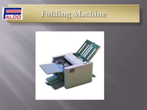 Paper Folding Machine Uk - folding machine