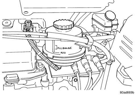 electric power steering 1993 dodge caravan user handbook how do i check the power steering fluid level on a 2004 dodge grand caravan sxt 6 cylinder