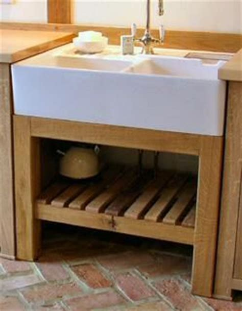 freestanding oak sink unit media room study and bathroom