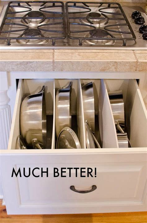 pots and pans drawer cabinet 17 best images about pantry cabinet drawer ideas on