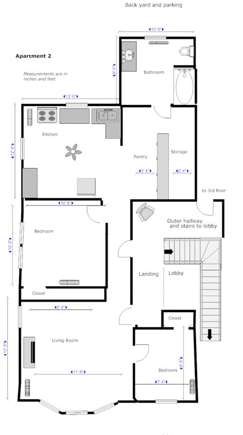 draw floor plans try free and easily draw floor plans floor plan software lucidchart tekchi attractive easy