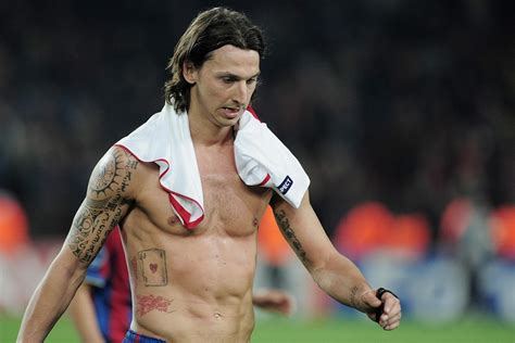 zlatan ibrahimovic tattoos the sport and football report