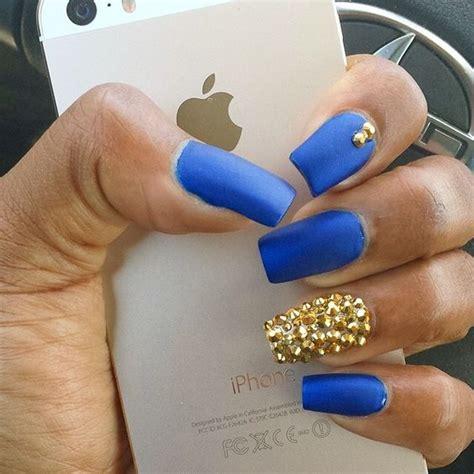 imagenes de uñas acrilicas azul rey unas color azul rey 17 curso de organizacion del hogar