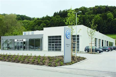 Volkswagenzentrum Regensburg by Referenzen Rinkl Werkstatt Technik