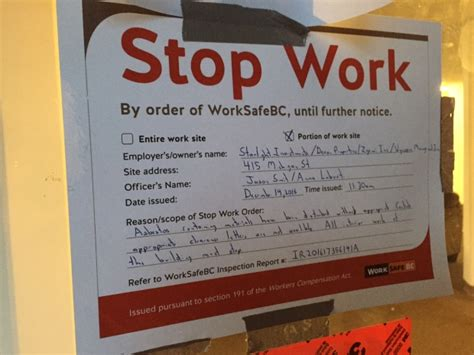 stop work order tenants of victoria apartment building worry about