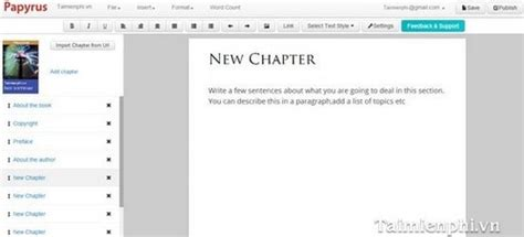 epub format editor create pdf ebook format epub mobi by papyrus editor