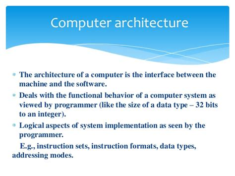 Computer Organization And Architecture 10ed introduction to computer architecture and organization