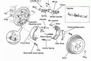 Toyota Tacoma Brake System Diagram 2000 Ford Ranger Rear Drum Brakes On 2000 Toyota Tacoma