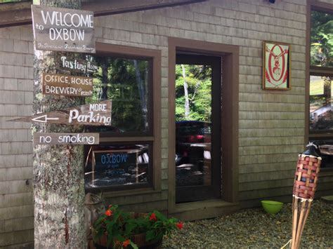 oxbow tasting room in oxbow s neck of the woods it s a locavore s paradise mainetoday
