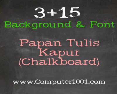 font kekinian 3 15 background dan font untuk desain bergaya papan tulis