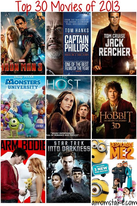 best 2013 films top 30 must watch movie releases of 2013 a mom s take