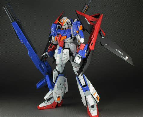 Mg 1 100 Zeta Gundam Ver 2 0 gundam mg 1 100 zeta gundam ver 2 0 customized build