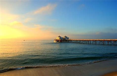 malibu beach pier haute residence featuring