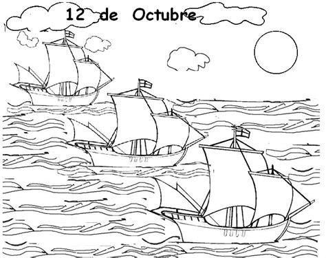imagenes para colorear sobre el 12 de octubre docenteszona24 dibujos para colorear octubre