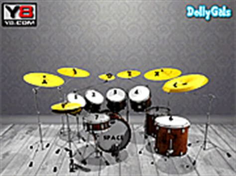 rhythm drum game play beat it virtual drums game online y8 com