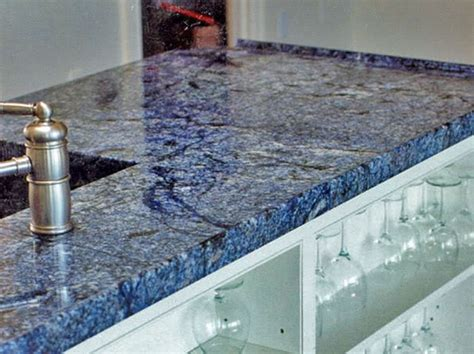 Blue Tile Kitchen Countertop by Kitchen Blue Quartz Countertops Tiles Http Www