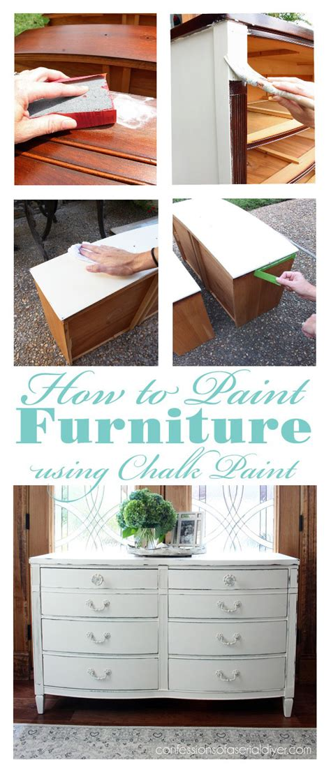 How To Paint Furniture Using Chalk Paint Confessions Of | how to paint furniture using chalk paint confessions of