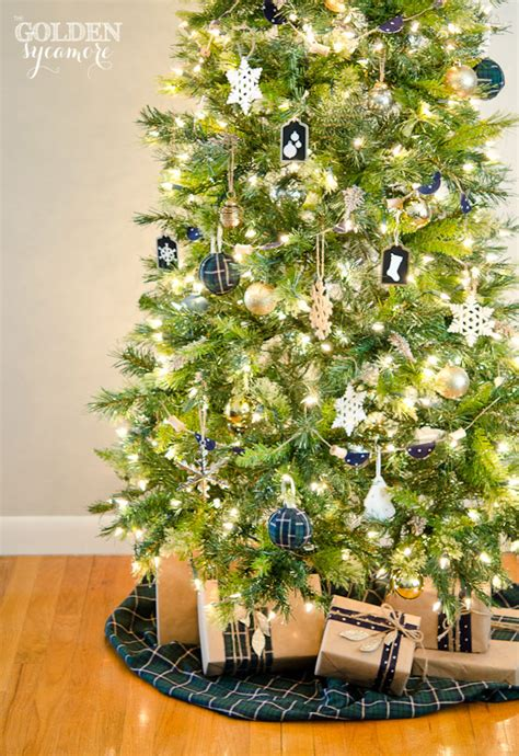 my christmas tree my christmas tree neutrals and navy the golden sycamore