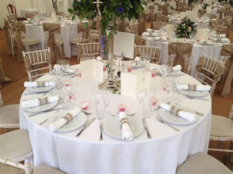 tables  banqueting hire service