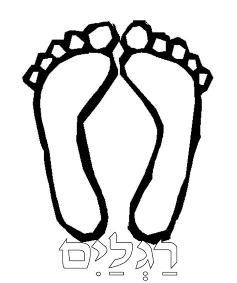 Free Coloring Pages Of Feet And Toes Foot Coloring Pages
