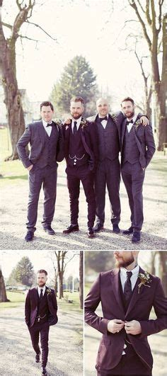 Mens Wedding Attire Vancouver by Mis Matched Groomsmen Braces And No Socks For This