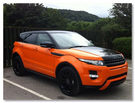 Range Rover Evoque Wrap Vehicle Wrapping Huddersfield
