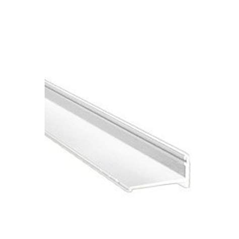 Shower Door Track Replacement Crl White Frameless Sliding Shower Door Bottom Track Extrusion For 1 4 Quot Or 3 8 Quot Glass 72 In
