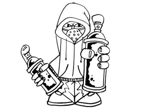 draw graffiti characters holding  cans youtube
