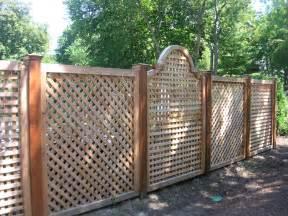 Design For Lattice Fence Ideas Project Idea Wood Lattice Ideas