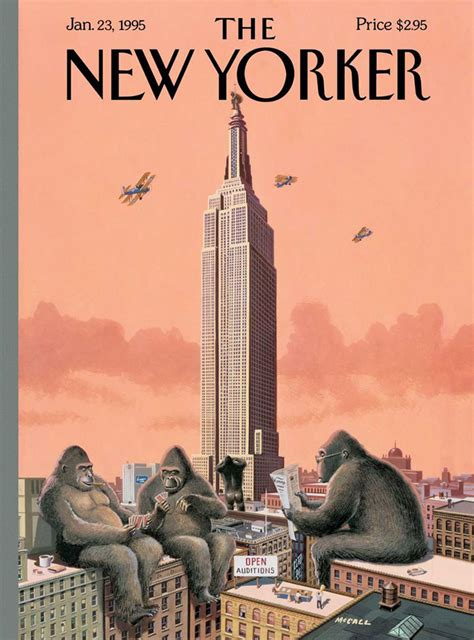 New Yorked by It S That Bruce Mccall Unveils His 71st New Yorker