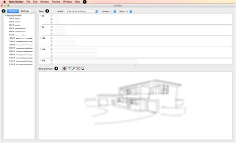 sketchup layout and style builder introducing the style builder interface sketchup