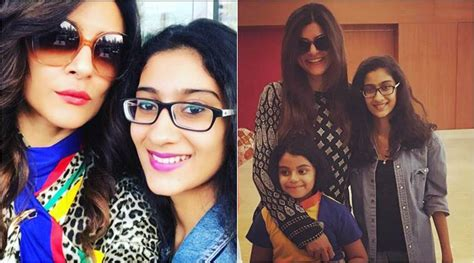 sushmita sen renee sen sushmita sen thinks impressing daughter renee is a