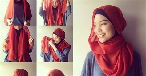 Model Kerudung Terbaru cara pakai jilbab model kerudung terbaru