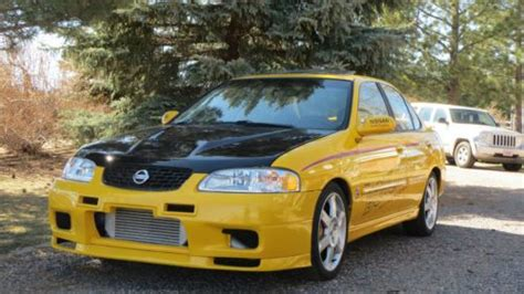 nissan sentra 2004 modified purchase used heavily modified 2004 nissan sentra ser spec