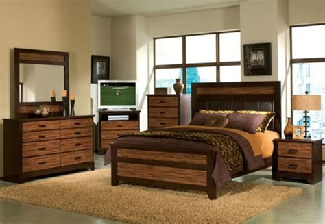 two tone bedroom furniture branchville 6 piece two tone finish bedroom set by acme