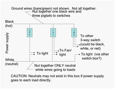 solved how to wire 3 switches in a 3 box fixya