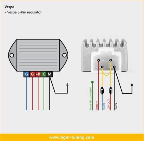 Regulator Vespa 5 bgm voltage regulator vespa honda sh634a 12 vespa px vespas honda and voltage